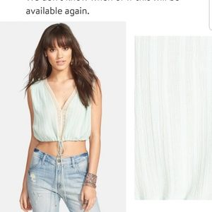 "Free People ""OLIVIA"" crop top"